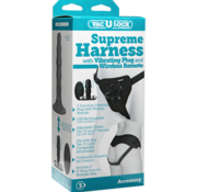 Doc Johnson Vac-U-Lock Supreme Harness w Vibrating Plug