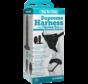 Vac-U-Lock Supreme Harness w Vibrating Plug