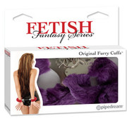 Pipedream Fetish Fantasy Series Original Furry Cuffs-Purple