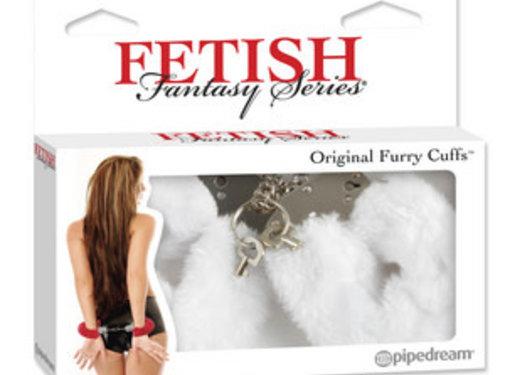 Pipedream Fetish Fantasy Series Original Furry Cuffs-White