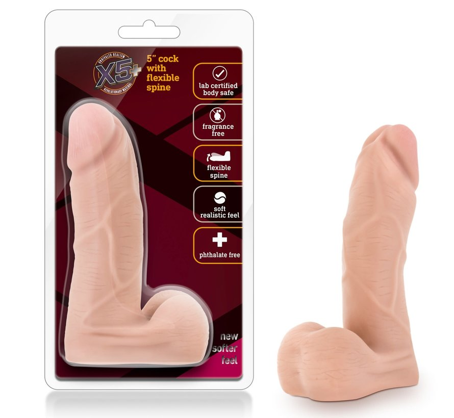 """X5 5"""" COCK WITH FLEXIBLE SPINE"""