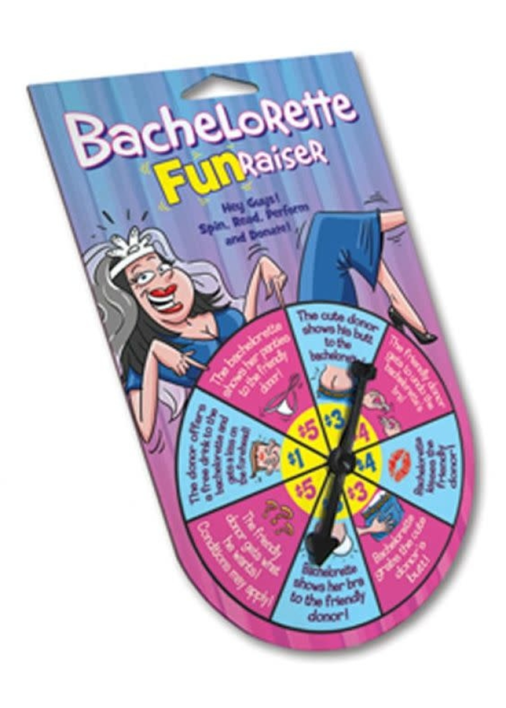 Bachelorette FunRasier Spinner