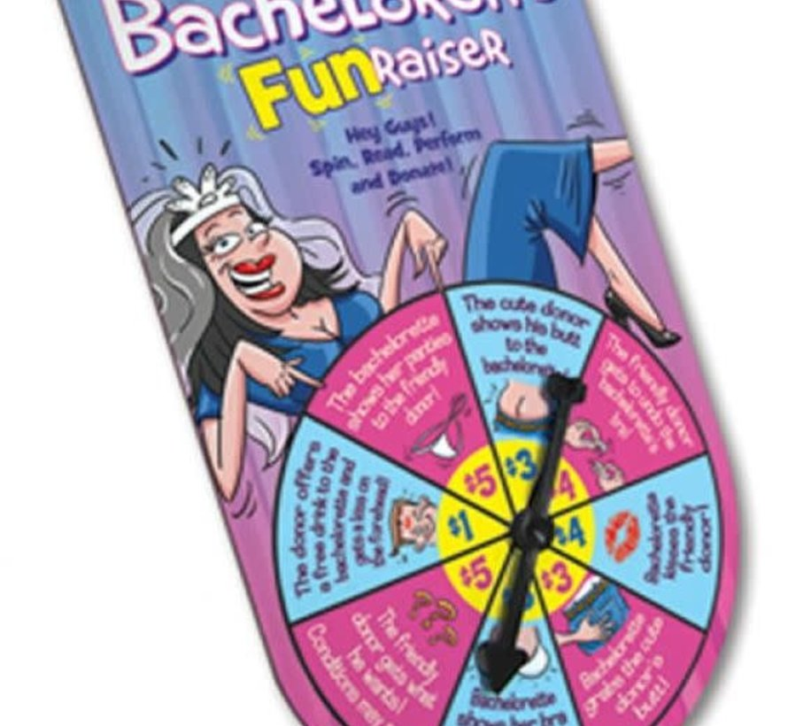 Bachelorette FunRasier Spinner