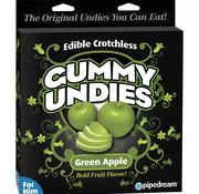 Pipedream Edible Male Gummy Undies- Apple