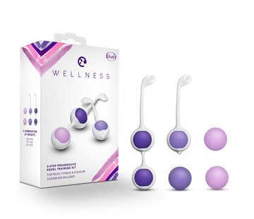 Blush Novelties Wellness Kegel Training Kit Purple