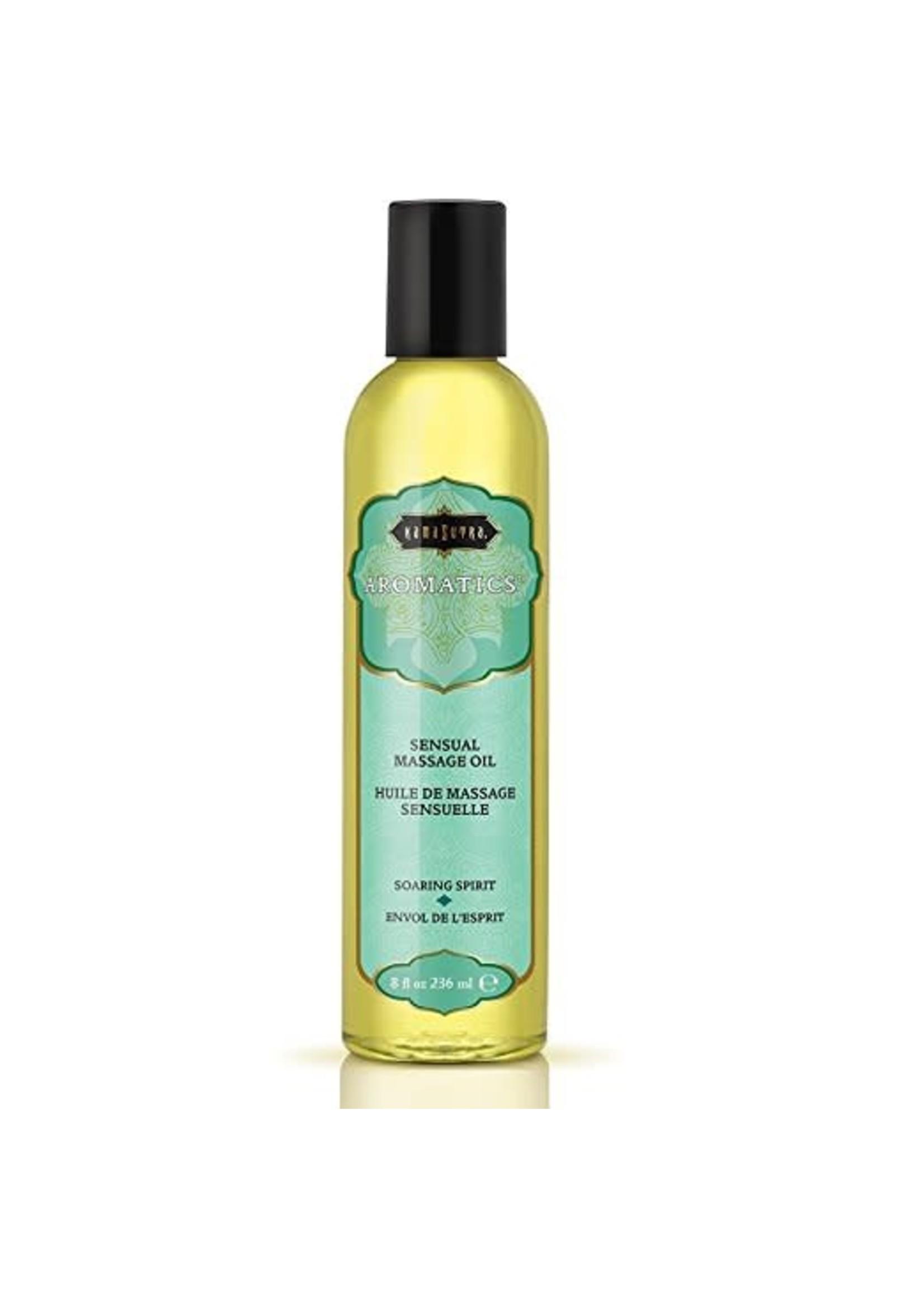Kama Sutra Aromatics Massage Oil Soaring Spirit 8fl oz