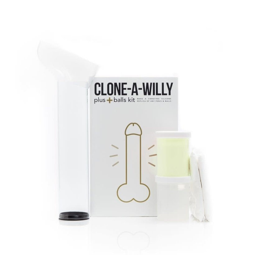 Clone-A-Willy + Balls Glow Kit