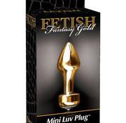 Pipedream FF GOLD MINI LUV PLUG