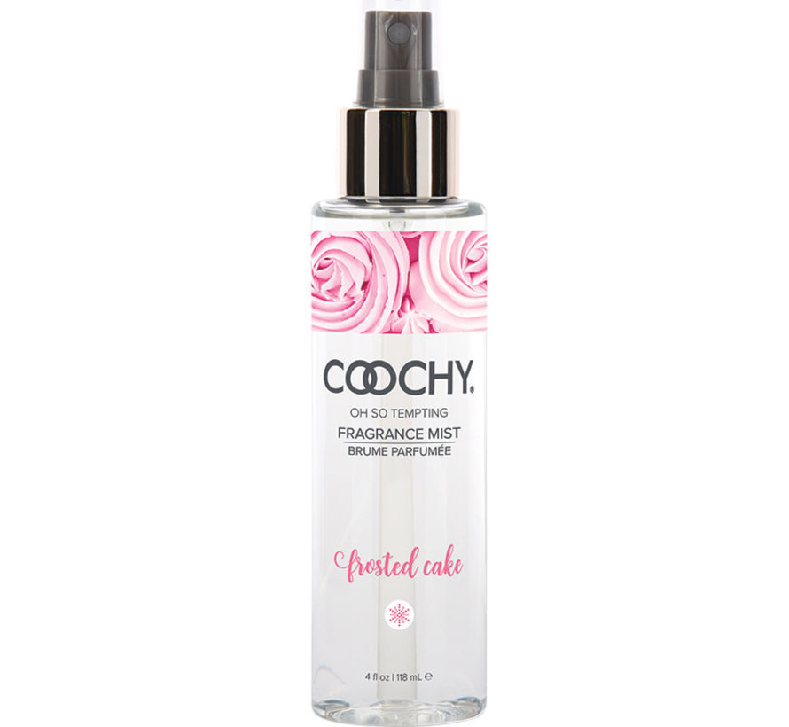 Coochy Fragrance Body Mist-Frosted Cake 4oz