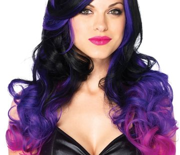 Leg Avenue Allure Multi-Color Wig