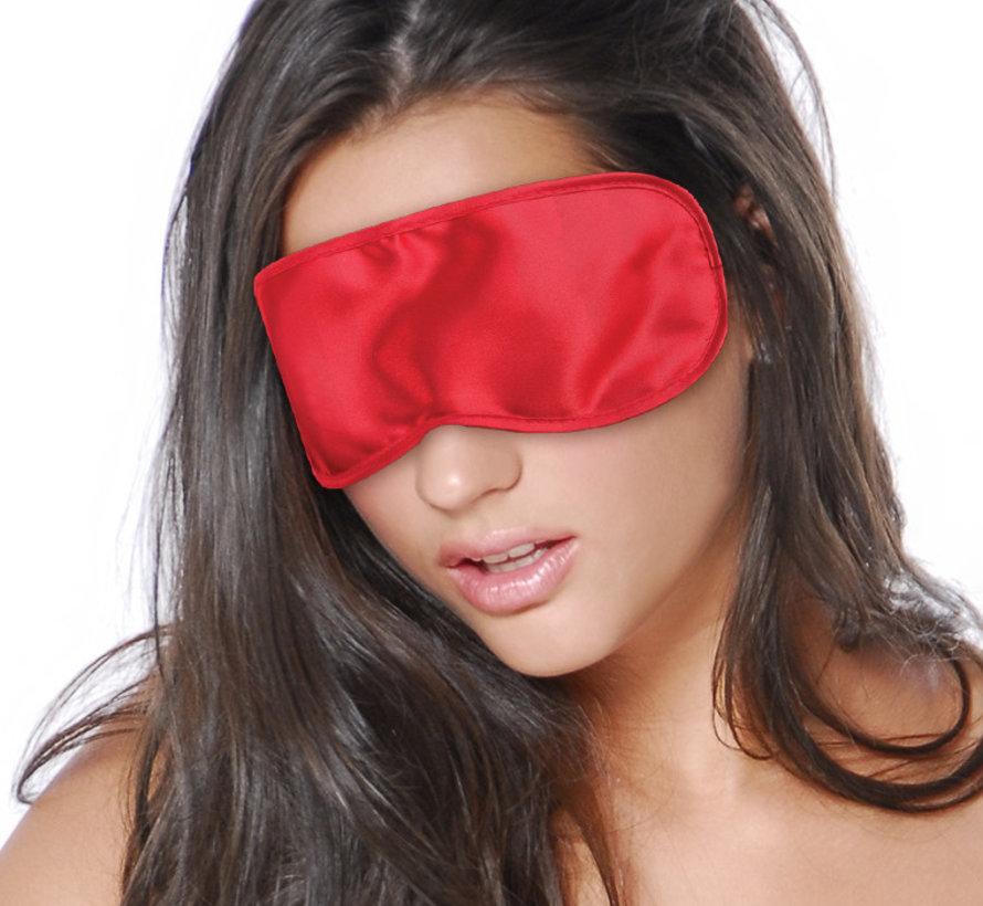 Fetish Fantasy Series Satin Love Mask Red
