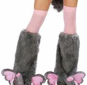 Pink Elephant Leg Warmers