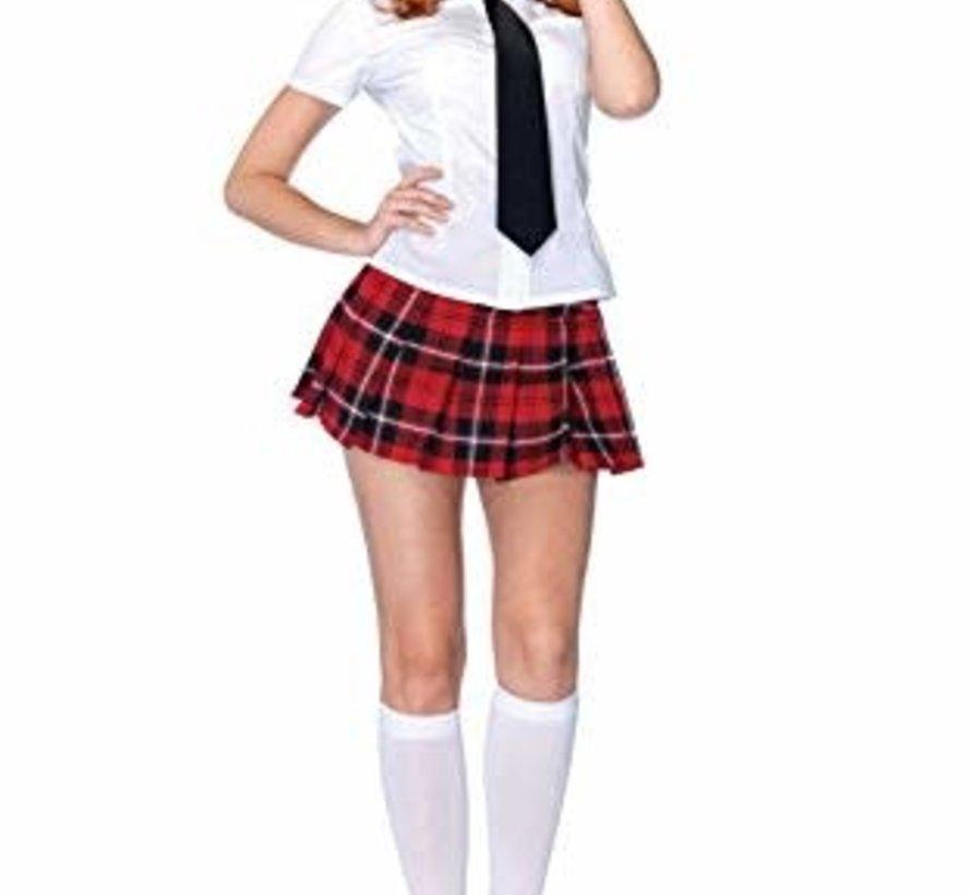 Leg Avenue Private School Girl Costume