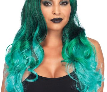 Leg Avenue Ombre Jewel Long Wavy Wig