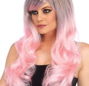 Leg Avenue Blended Two-Tone Pastel Long Wavy Wig