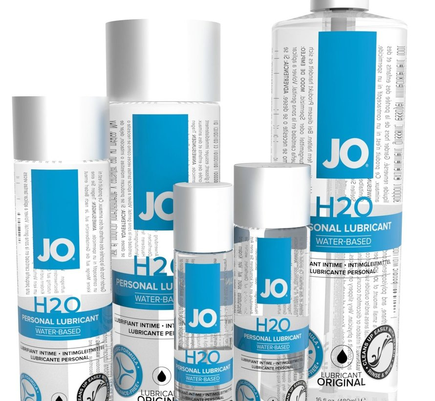 SYSTEM JO H2O (water-based lube) 2oz