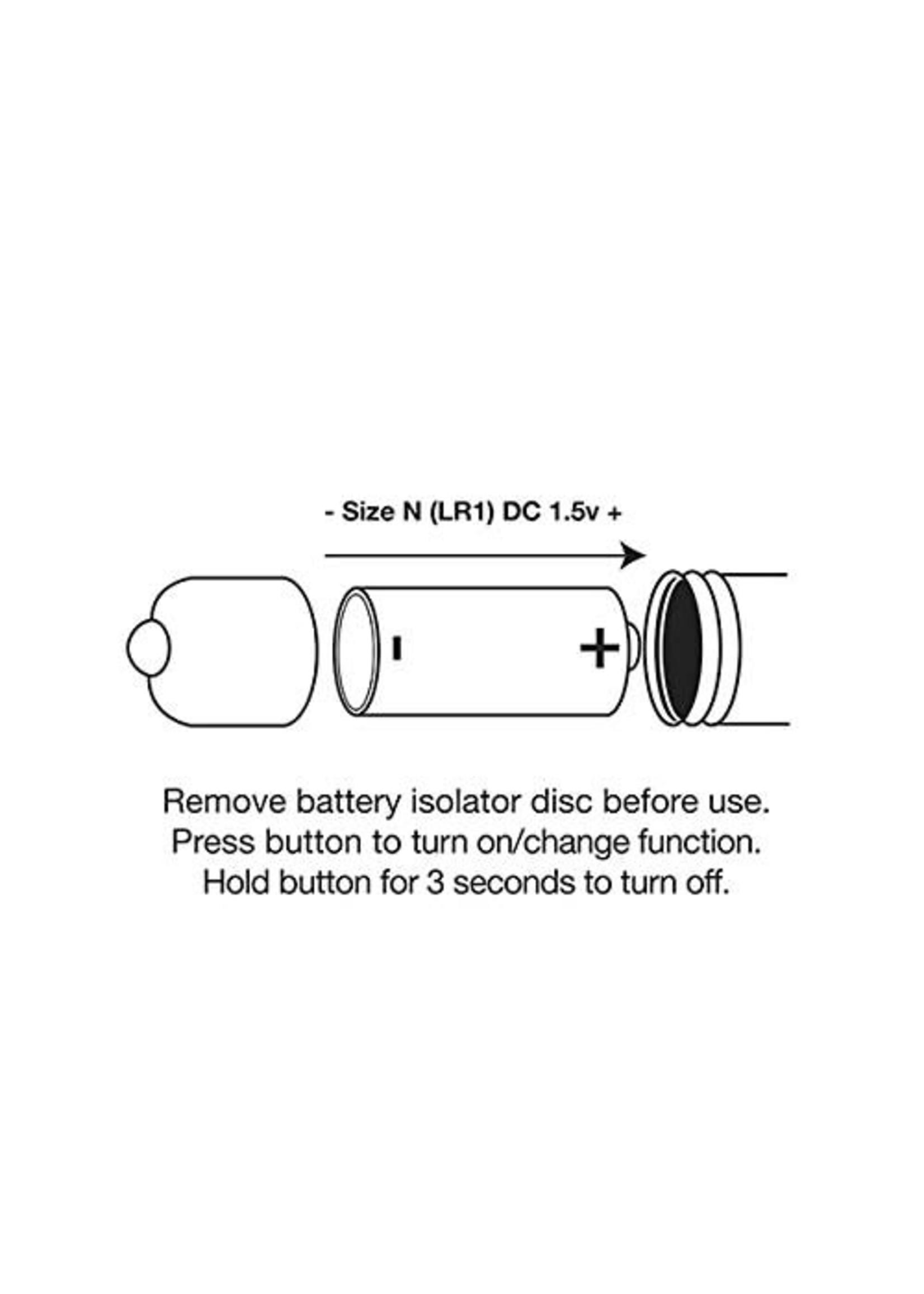 Rocks Off RO-80mm 7 Speed Rainbow Bullet Vibe