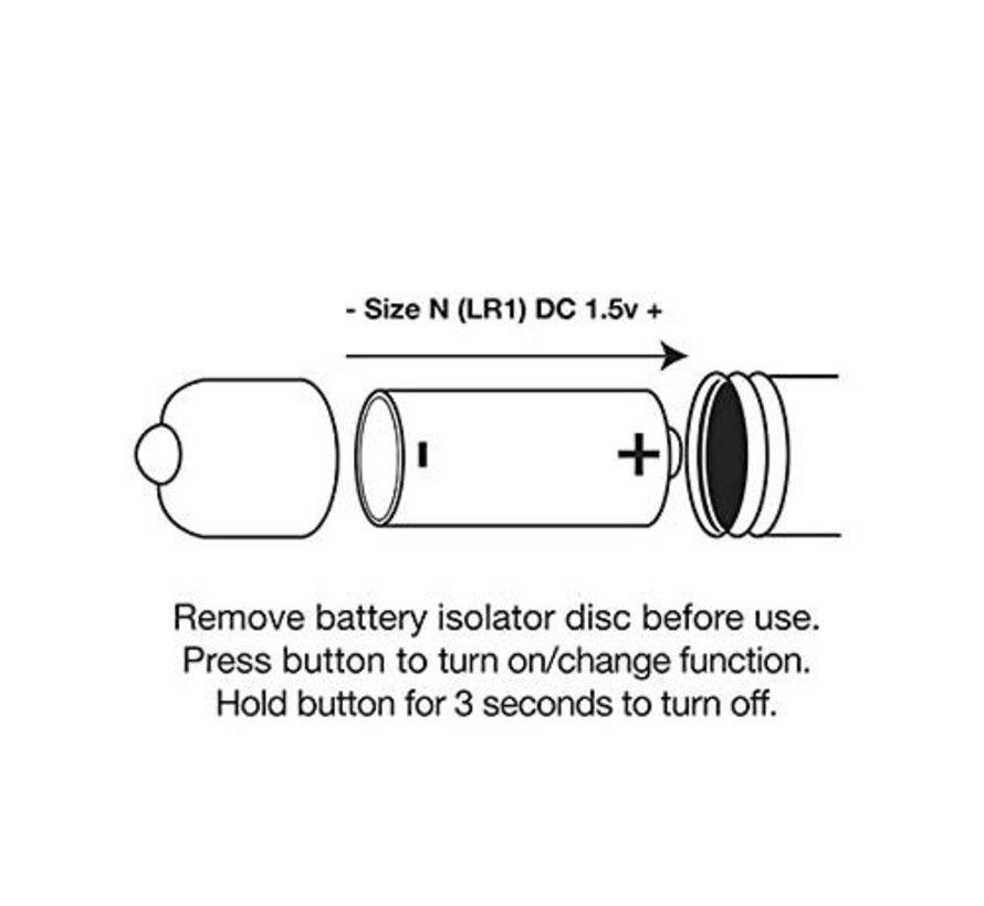 RO-80mm 7 Speed Rainbow Bullet Vibe