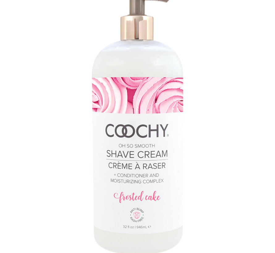 Coochy Shave Cream-Frosted Cake 32oz
