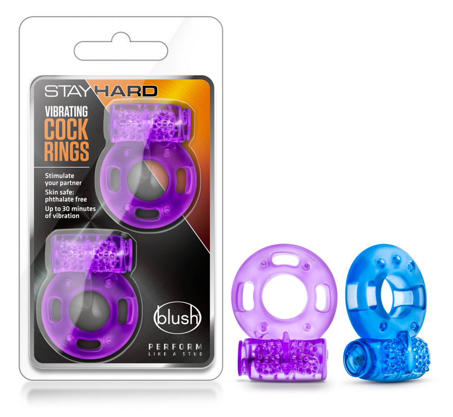 STAY HARD DISPOSABLE VIBRATING COCK RING