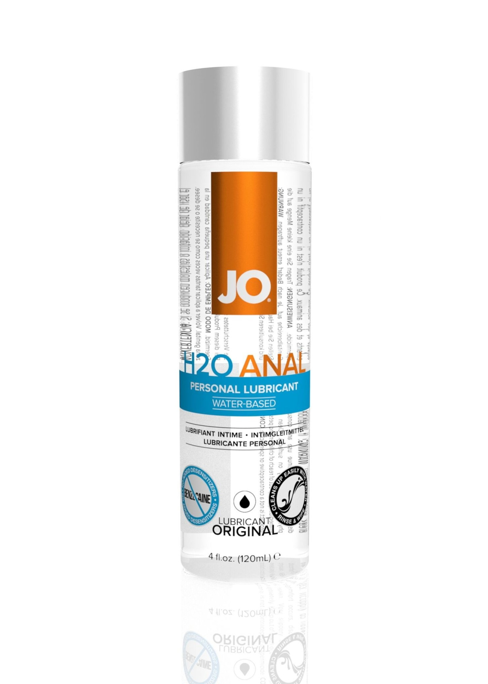 System JO JO H2O Anal 4oz