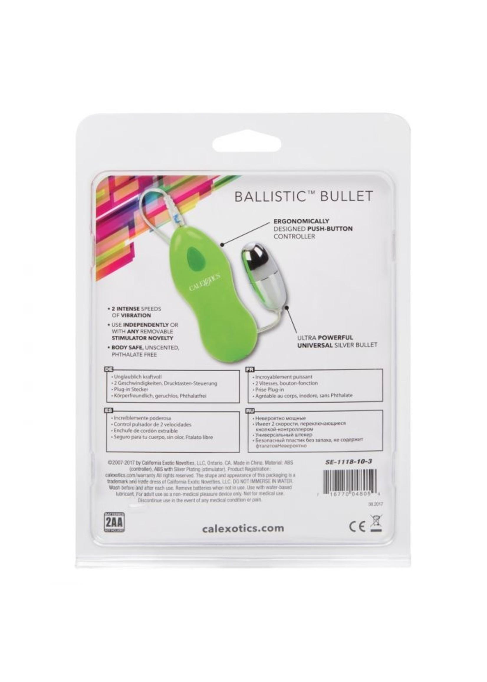 Cal Exotic Novelties Ballistic Bullet - Universal