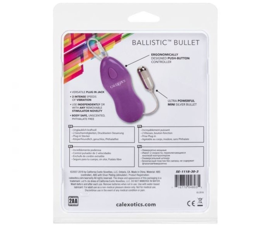 Ballistic Mini Bullet Purple
