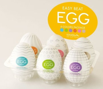 Tenga TENGA EASY BEAT EGG SIX PACK