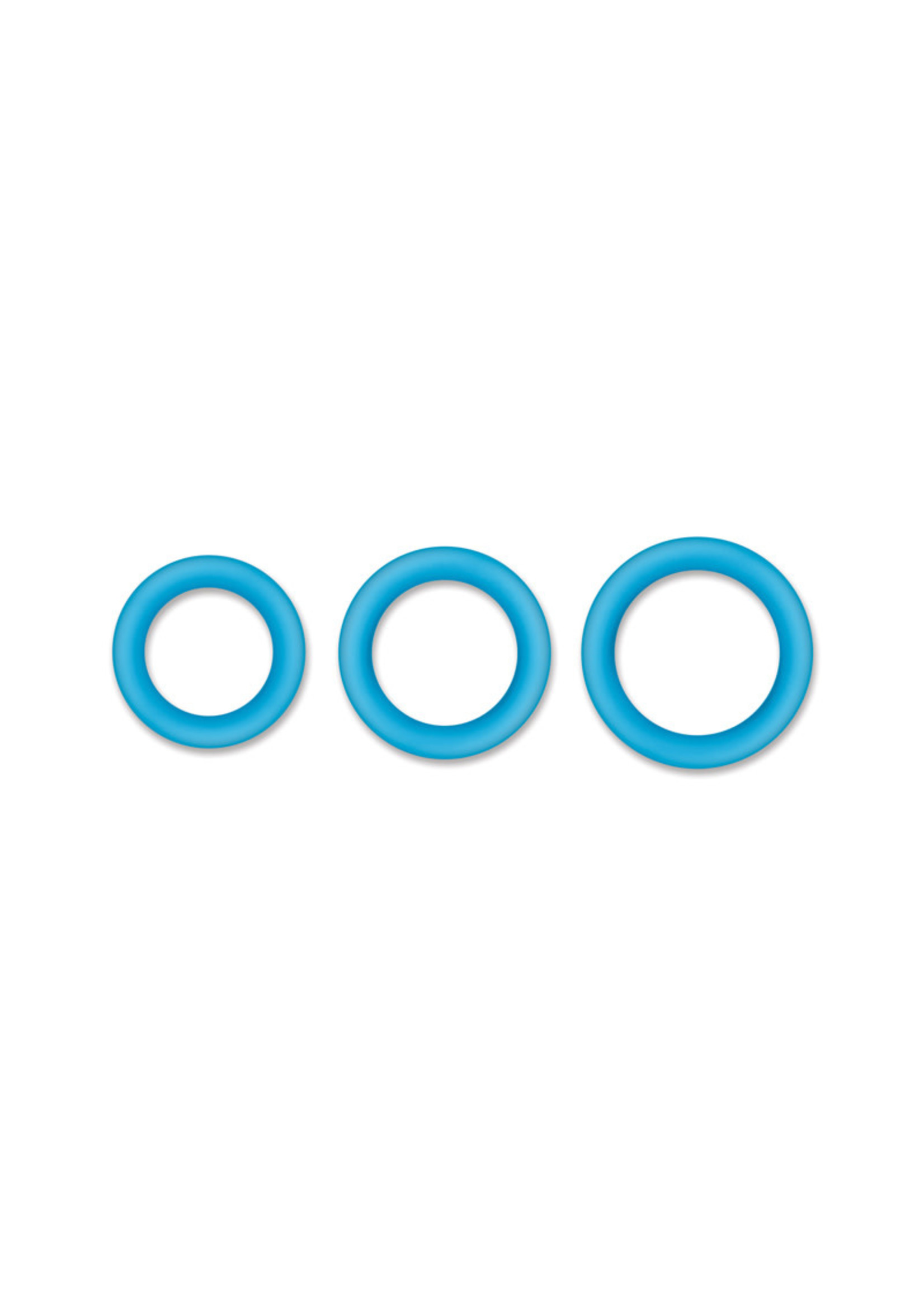 NS Novelties Firefly - Halo - 50mm Cockring - Small - Blue