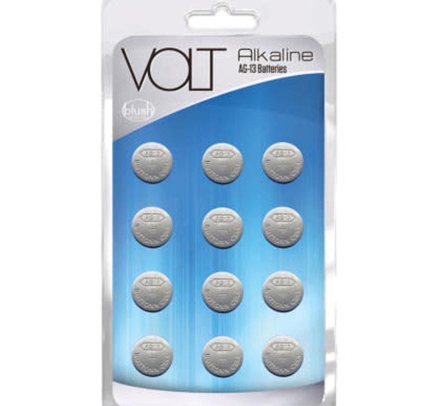 VOLT AG-13 Alkaline Batteries (12 Pack)