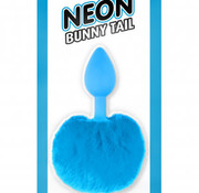 Pipedream Neon Bunny Tail Blue