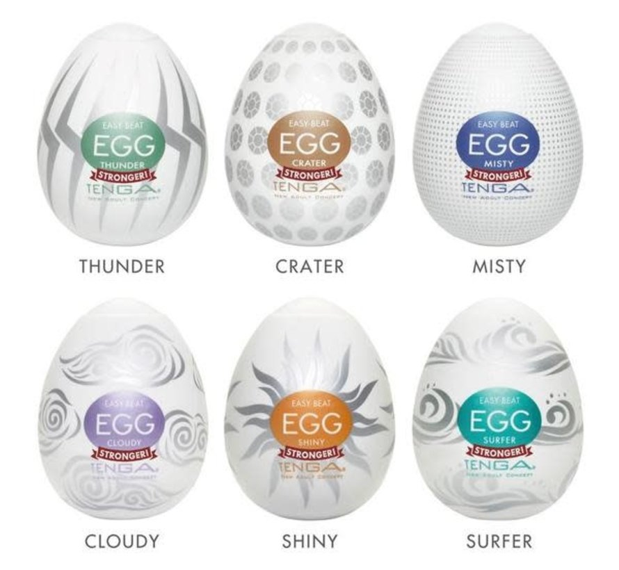 TENGA EGG Variety Pack - Hard Boiled