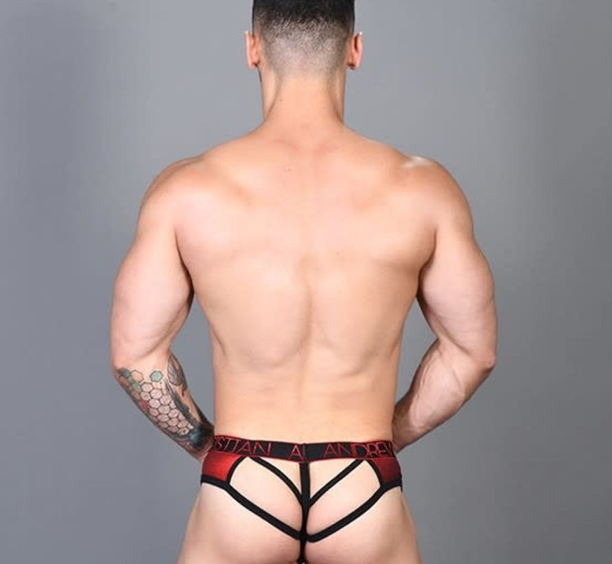Hotness Metallic Frame Thong w/ Almost Naked
