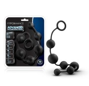 Blush Novelties Performance 16 in. Silicone Anal Beads Blk