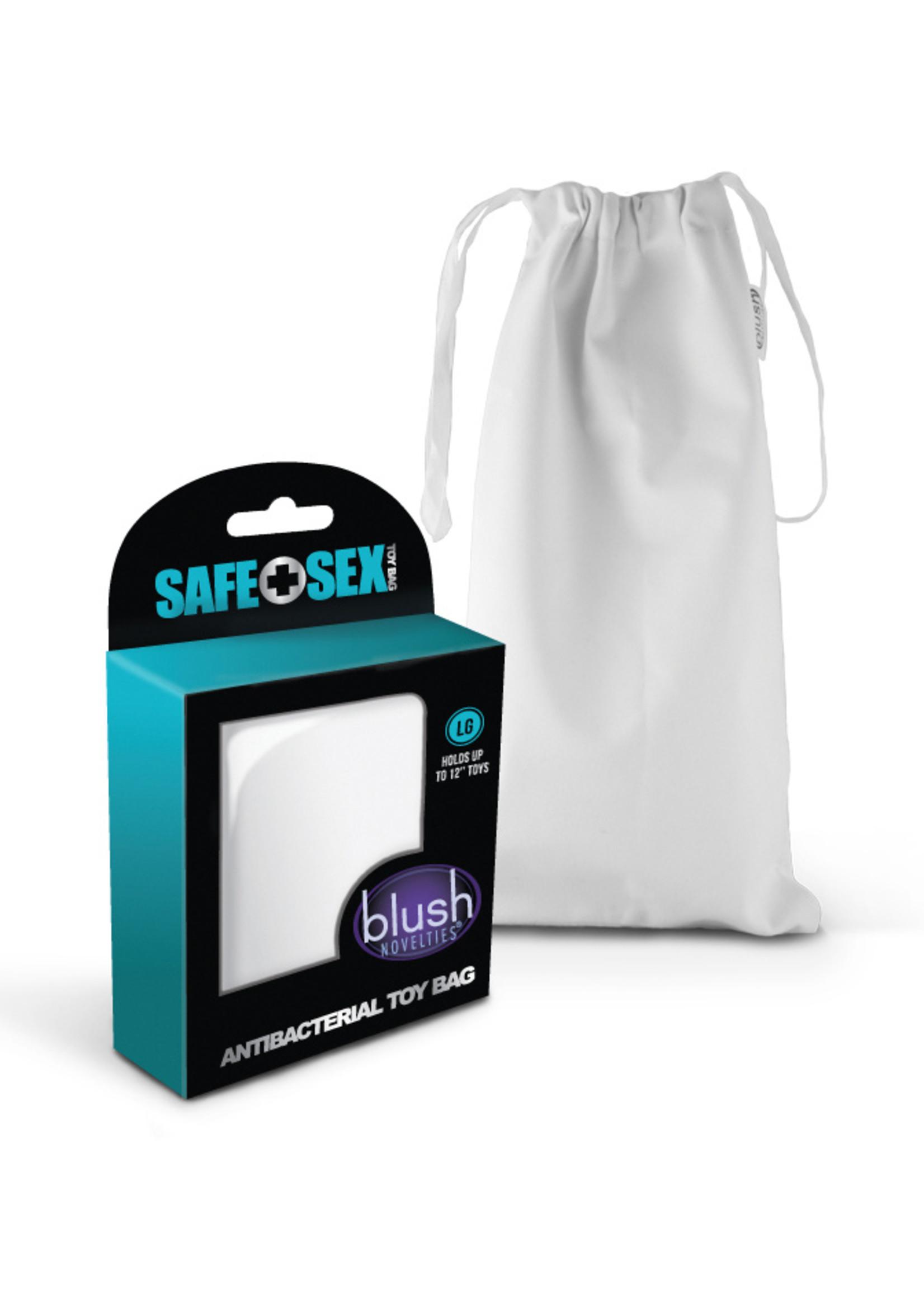 Blush Novelties Safe Sex - Antibacterial Toy bag - Large Size
