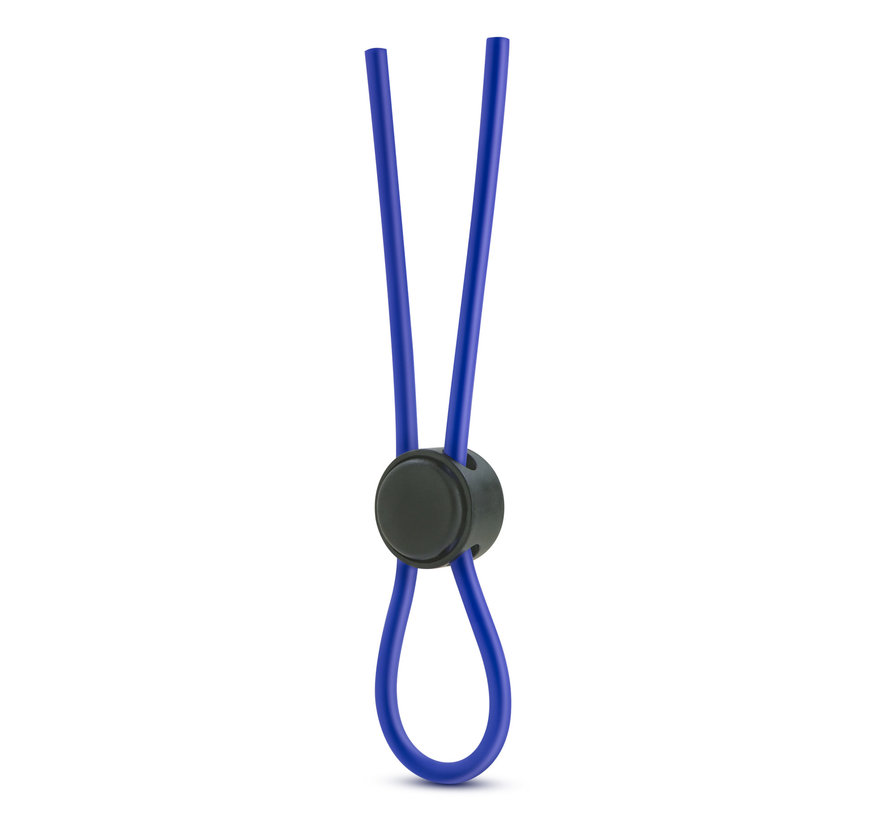 Stay Hard Silicone Loop C-ring Blue