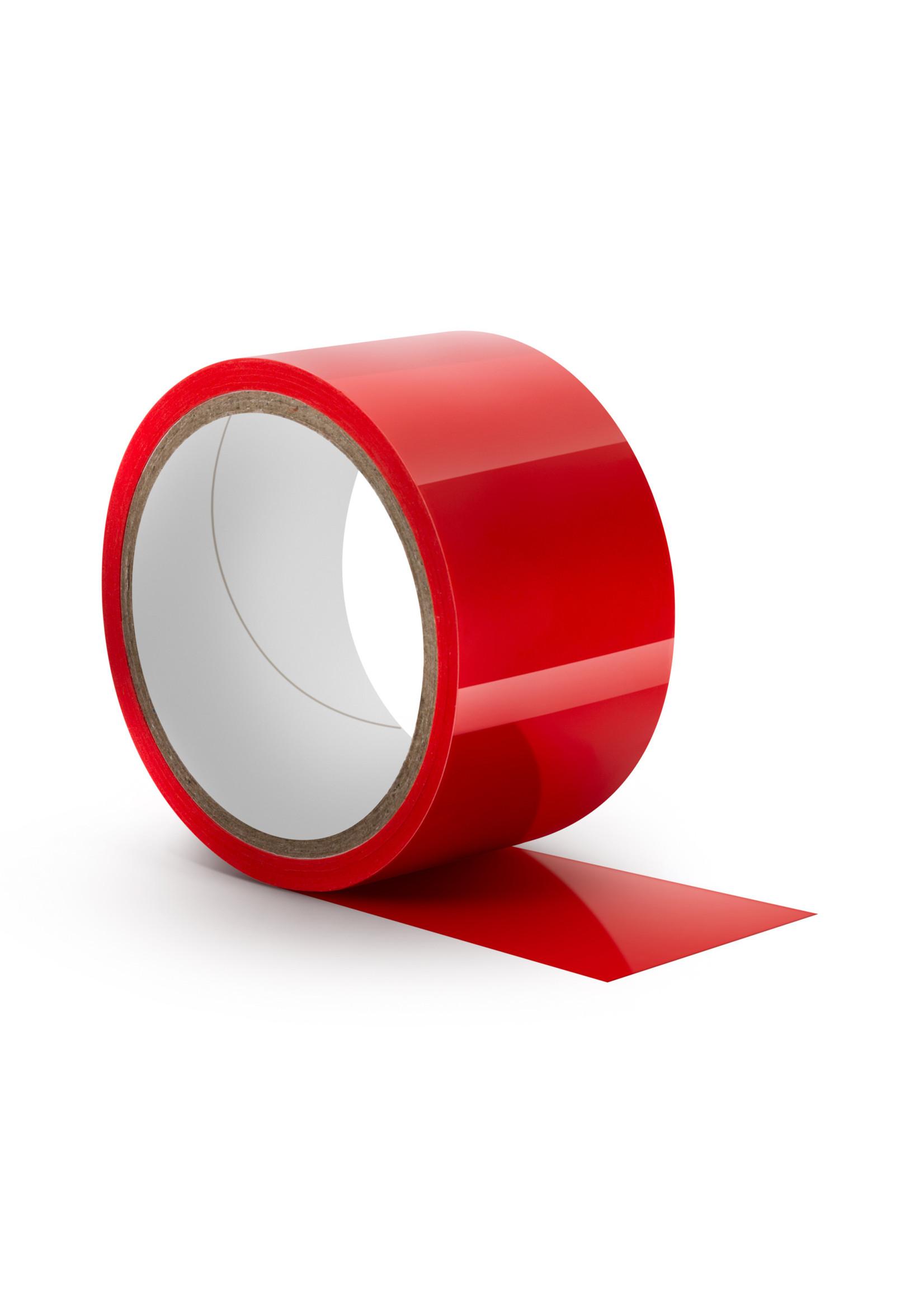 Blush Novelties Temptasia Bondage Tape 60ft Red