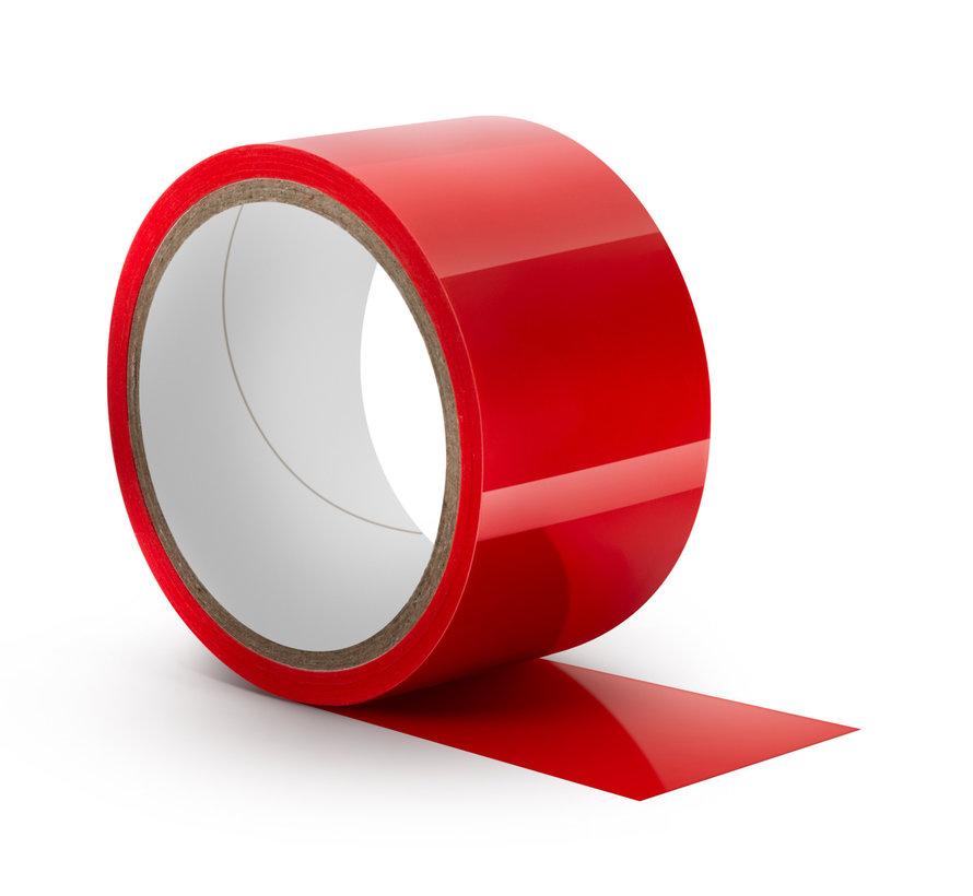 Temptasia Bondage Tape 60ft Red