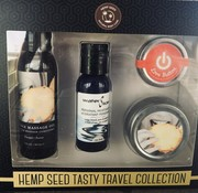 Earthly Body Hemp Tasty Travel Set Pineapple