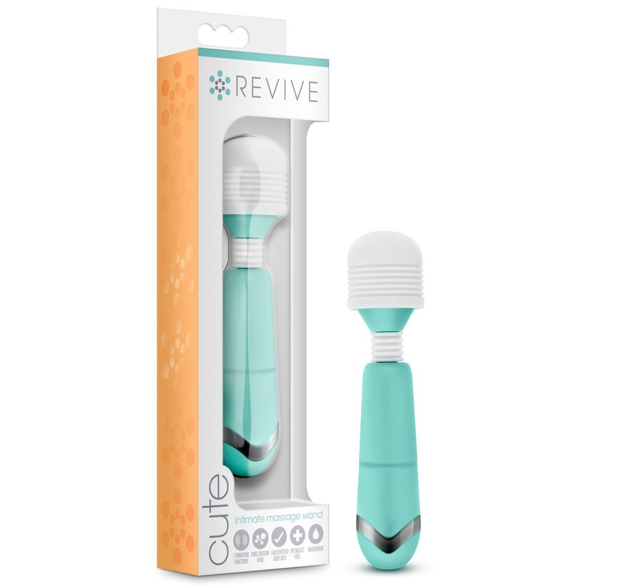 Revive - Cute - Intimate Massage Wand - Tiffy Blue