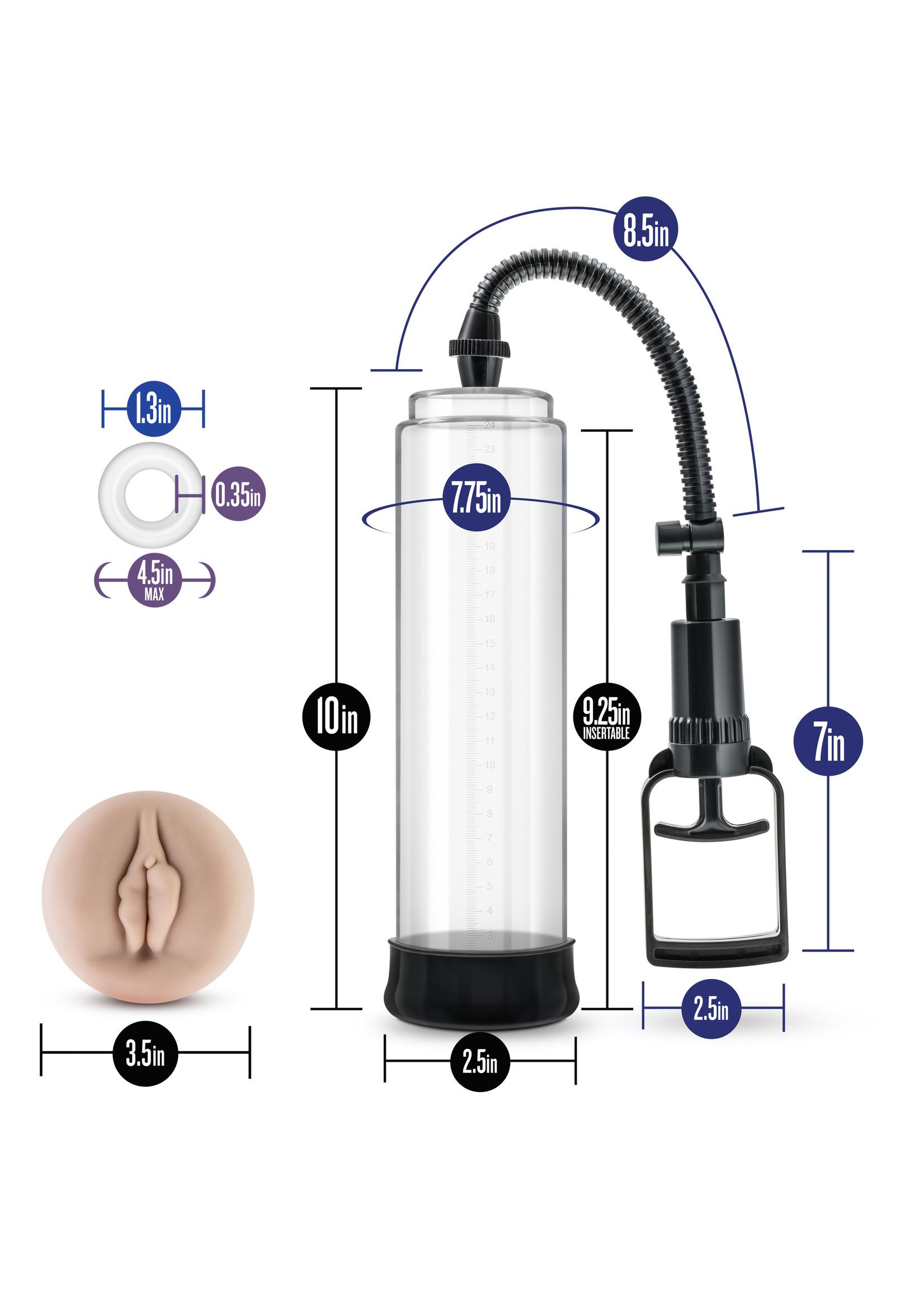 Blush Novelties Performance - VX5 - Male Enhancement Pump System - clear
