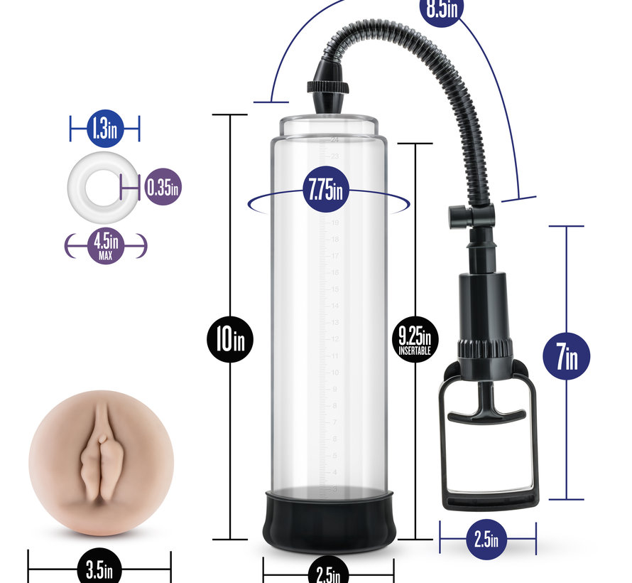 Performance - VX5 - Male Enhancement Pump System - clear
