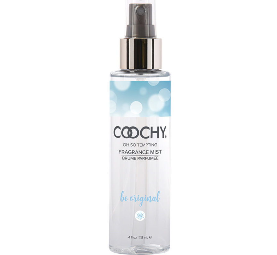 Coochy Fragrance Body Mist-Be Original 4oz