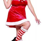 Leg Avenue Santa's Little Helper Costume Plus