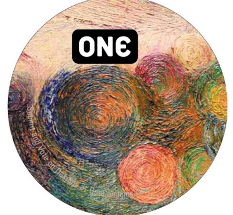 ONE Condoms Asst single