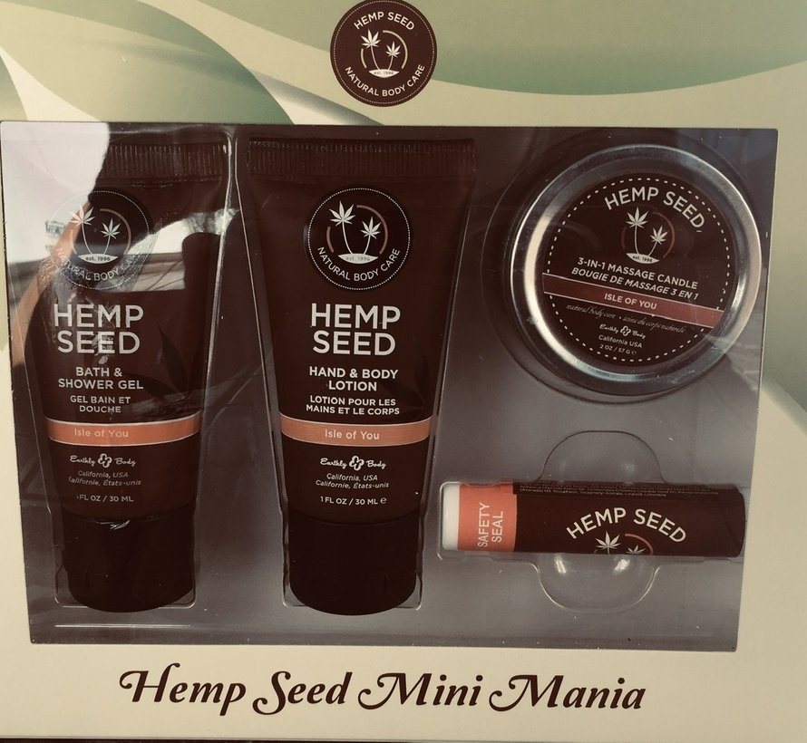Hemp Mini Mania Set Isle of You