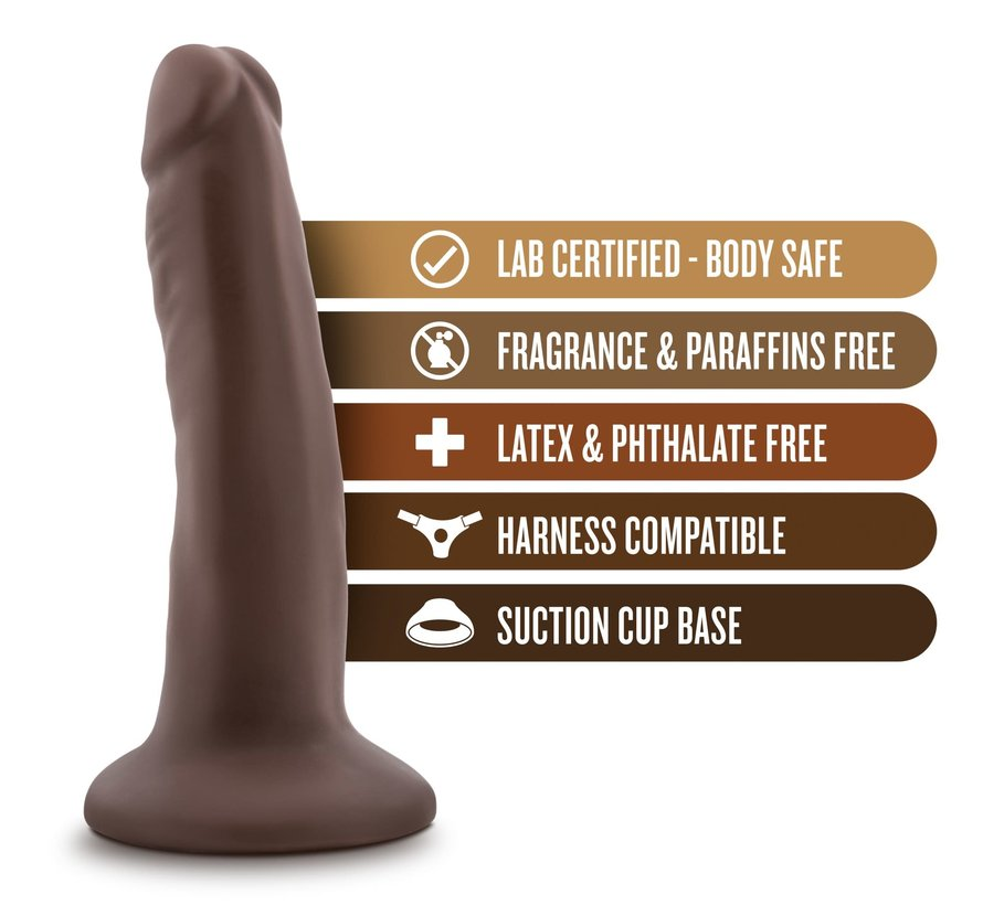 "Dr. Skin 5.5"" Cock Chocolate"
