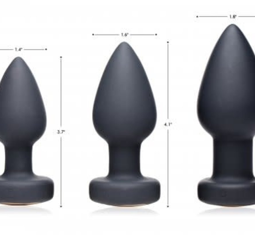7X LED Light Up Anal Plug