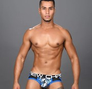 Andrew Christian Shockwave Mesh Brief Jock Thong w/ Almost Naked