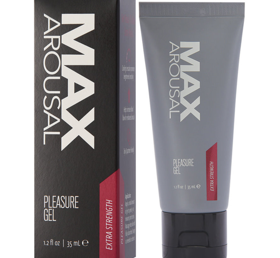 MAX Arousal Pleasure Gel-Extra Strength